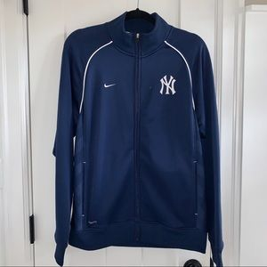 Nike NY a Yankees track jacket - large